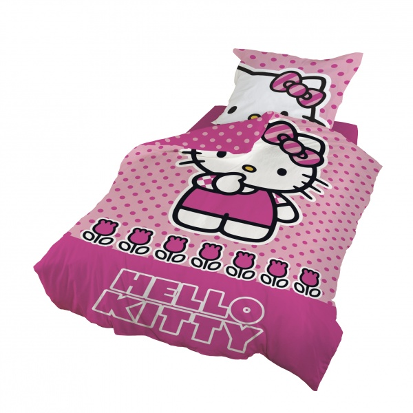 Hello kitty barn 140x200 sengesett   soveromsbutikken ...